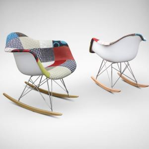 Gum – Patch + Rocking Arm chair