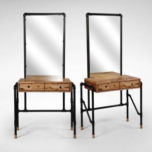 Pipe Dresser with Mirror
