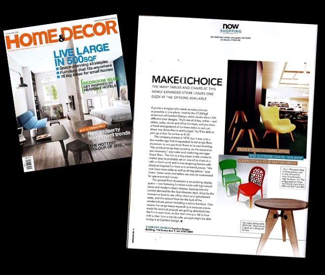 Home & Decor Feb 2012 Issue - Now Shopping Section