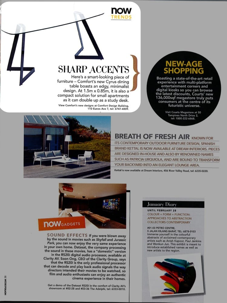 Home & Decor January 2013 Feature