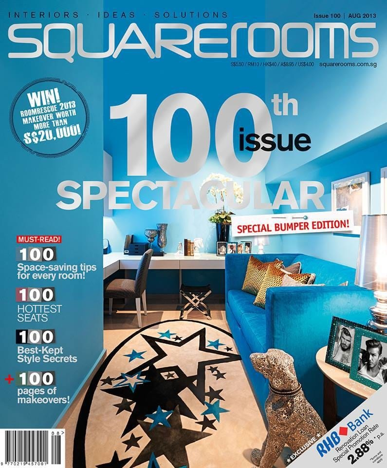 SquareRooms August 2013 / 100TH ISSUE